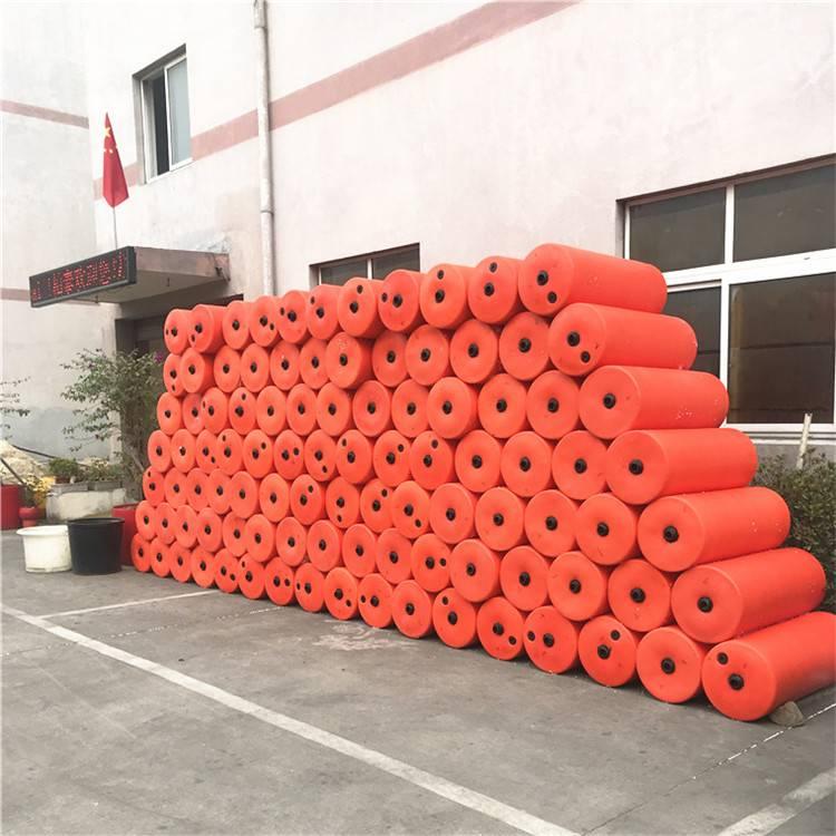 质量可靠养殖塑料浮筒 古田网箱浮桶价格