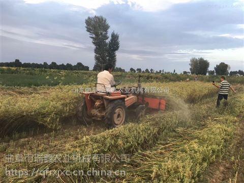 小型油菜割晒机直销 养殖场牧草收割机 多功能割晒机瑞鑫牌