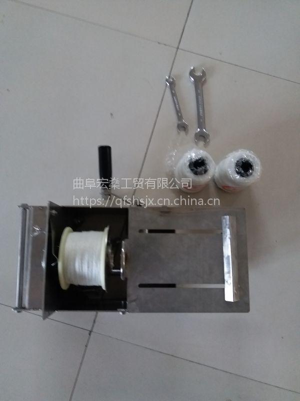 腊肠专用香肠扎线机手动香肠扎线机 四川腊肠捆绑机