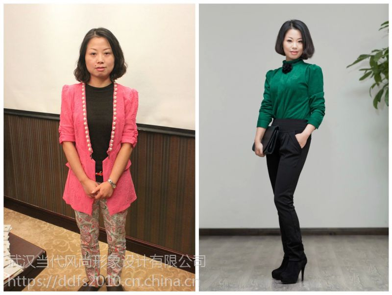 武汉女士外在学习穿衣搭配,学习适合自己的穿衣搭配规律
