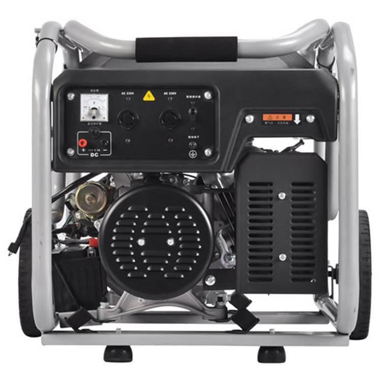 供应5kw静音汽油发电机 房车带空调发电机