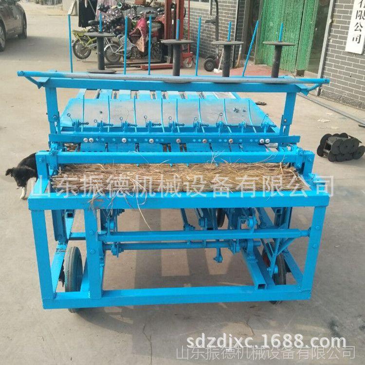 振德供应小型商用草帘机 稻草编织机 全自动草帘机价格