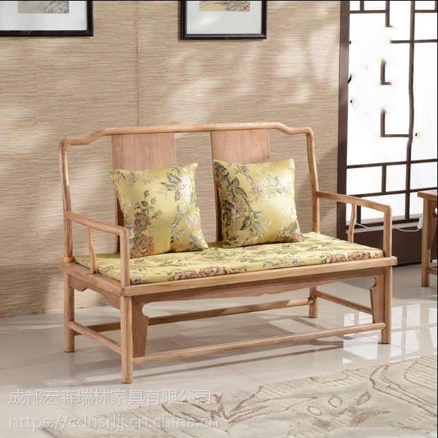 定做中式家具 成都仿古实木家具 新中式禅意家具
