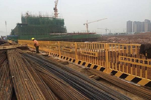 阳江施工安全栏杆 汕头工地临边围挡 湛江防坠落警示护栏