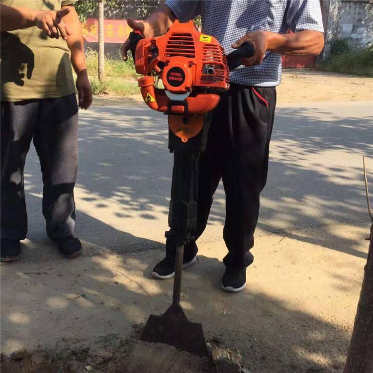 圣鲁链条式起树机 小型轻便移苗机 贵州刨树机