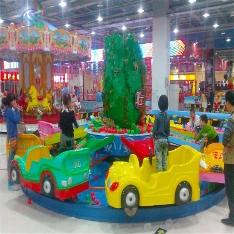 2017小孩子喜欢的儿童游乐场设备水陆战车slzc24人新品上市