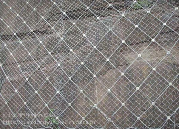 现货供应SNS柔性主动边坡防护网 被动防护网山体滑坡防护网材料包施工