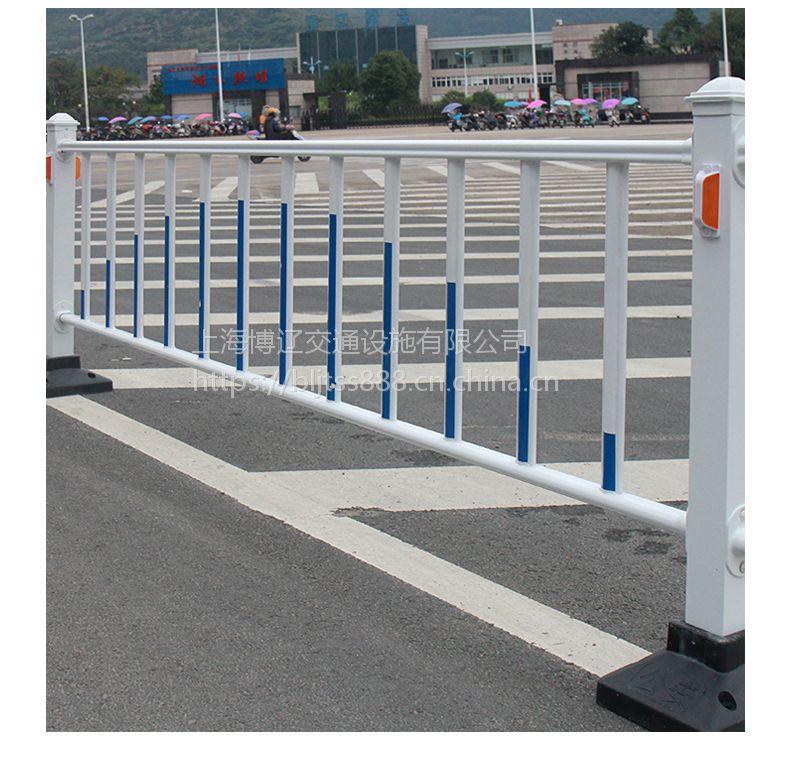 博辽道路护栏 公路防护栏 道路隔离栏人行道防撞围栏 市政围挡