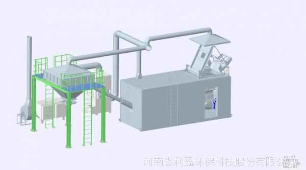 旋流塔+uv光解有机废气处理设备