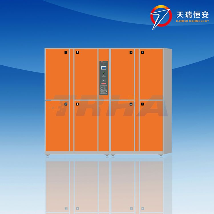 天瑞恒安 TRH-KLG-52 朝阳电子储物柜,朝阳电子智能寄存柜