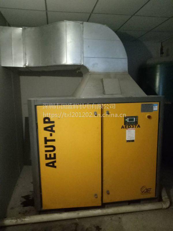 空压机排风管道专业安装 空压机白铁皮风管安装工程