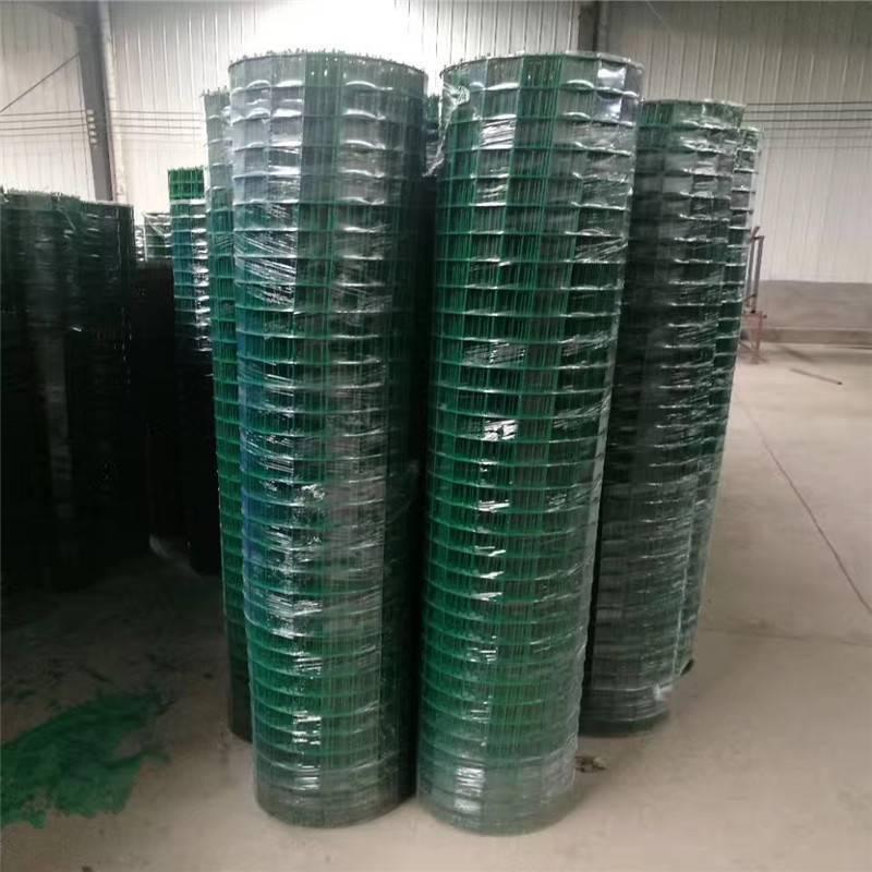 浸塑荷兰网 绿色养鸡养殖网 圈地用的铁丝网