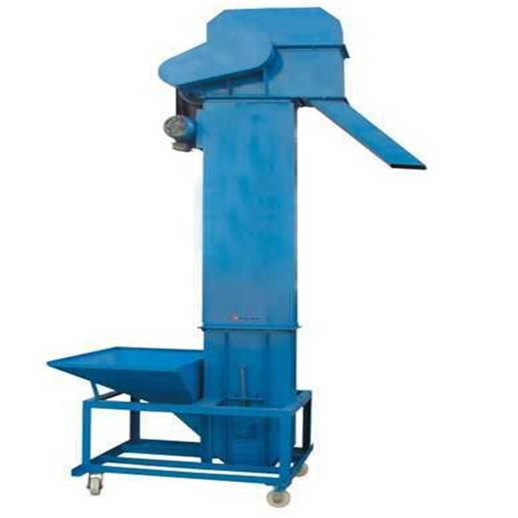 汇众垂直斗式提升机 稻谷挖斗式上料机 粮食仓储提料机