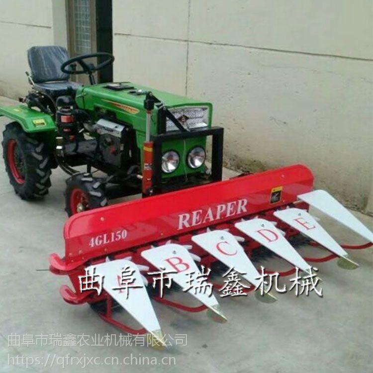 多功能小型割晒机 艾草收割机 牧草药材收割机
