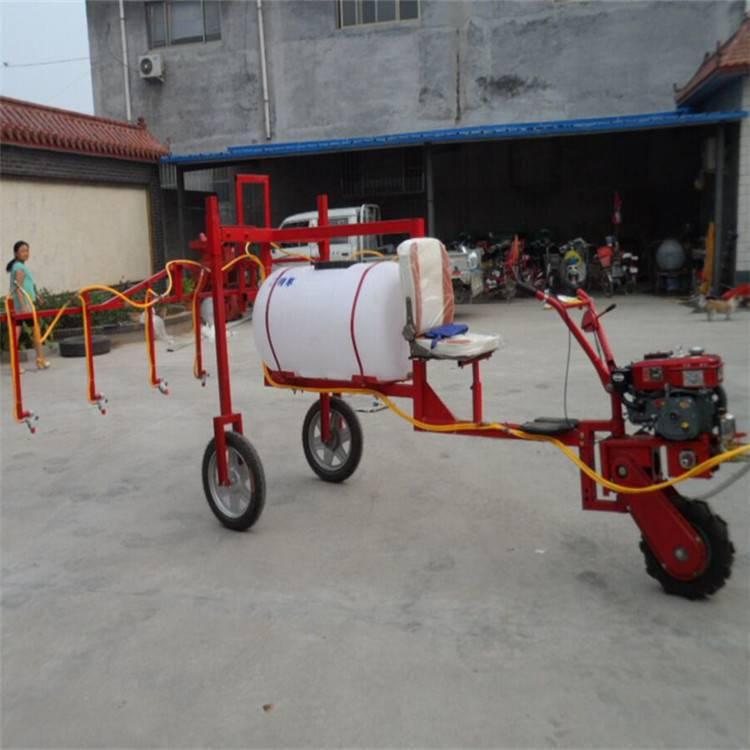 汽油四冲程打药机 自走式喷雾器 圣鲁三轮喷药机