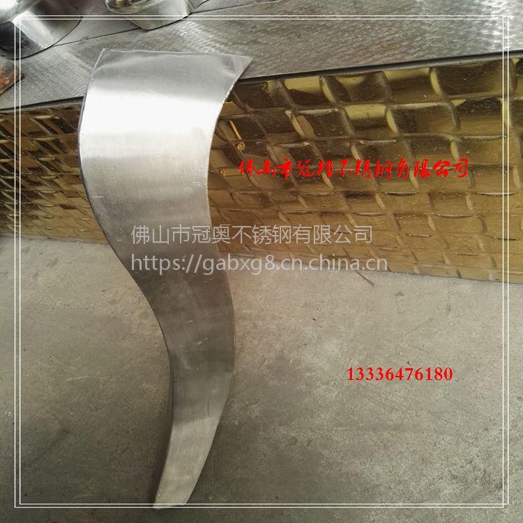不锈钢吧台脚 不锈钢造型管 不锈钢茶几脚 异型水胀管 KTV立柱