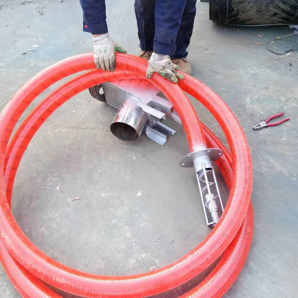 软管可弯曲小型车载吸粮型机 邦腾专业生产粮食输送设备