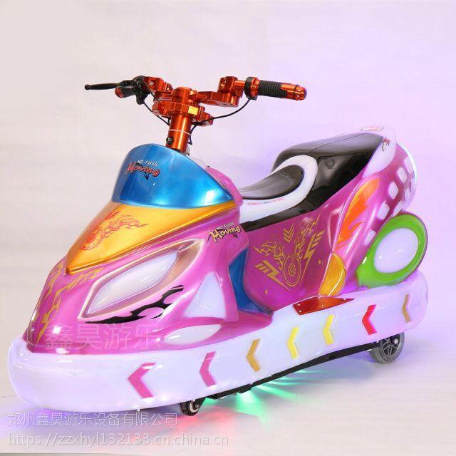 儿童极速飞车电动车 广场彩灯玩具遥控车 亲子炫酷发光车