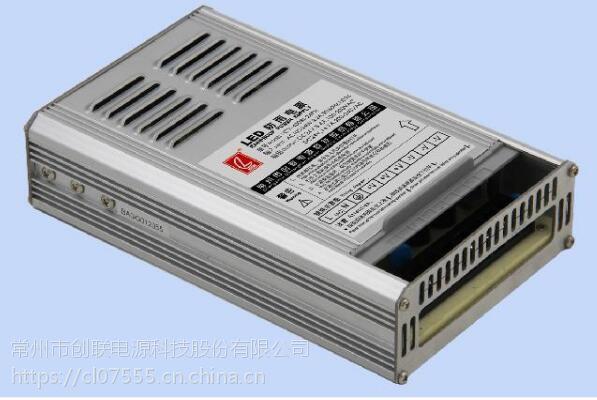 创联电源CV-400RI-24PH,24V 400W带PFC高效防雨电源