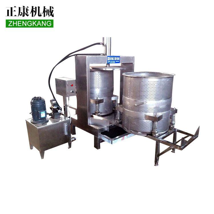 正康系列液压压榨机 果蔬类工业用脱水机 榨汁机