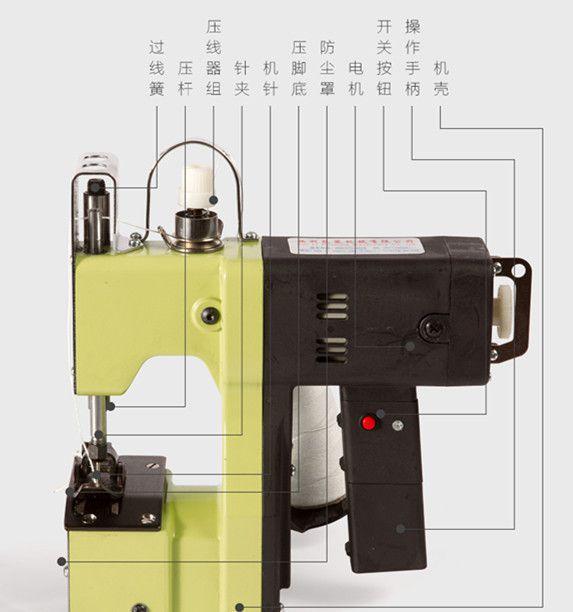 上海至奔手提式 电动 封包机 缝包机 打包机 编织袋 封口机图片