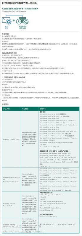 深圳供应商出售卡巴斯基高级版防毒软件