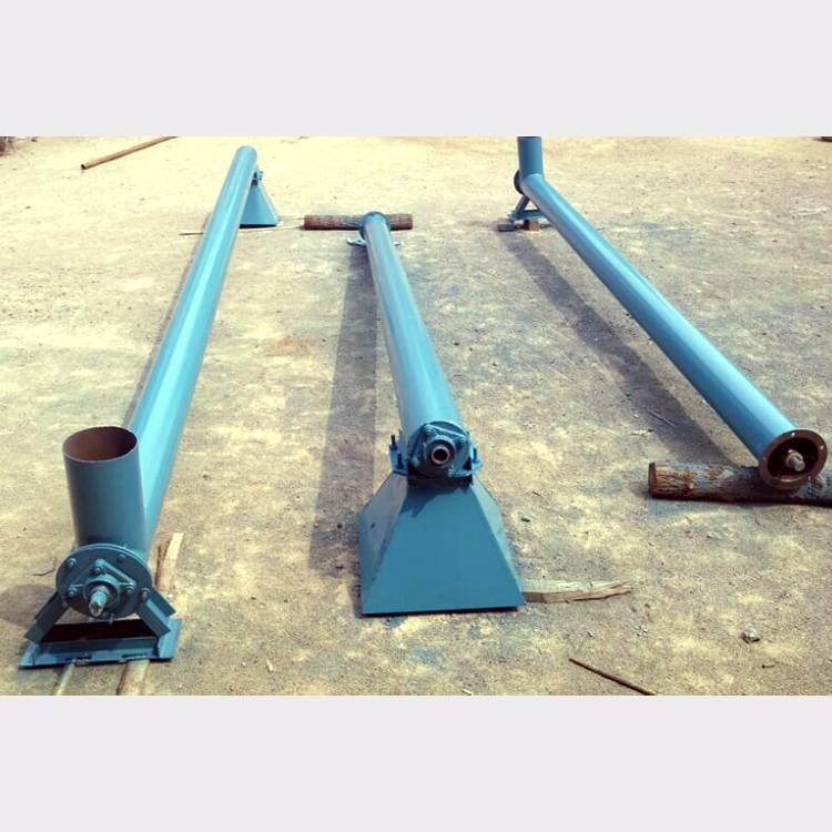 粮食收购用提升机 锰钢螺旋钢管提升机润众