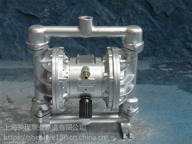 原油隔膜泵QBK-100铝合金配四氟 上海映程泵业