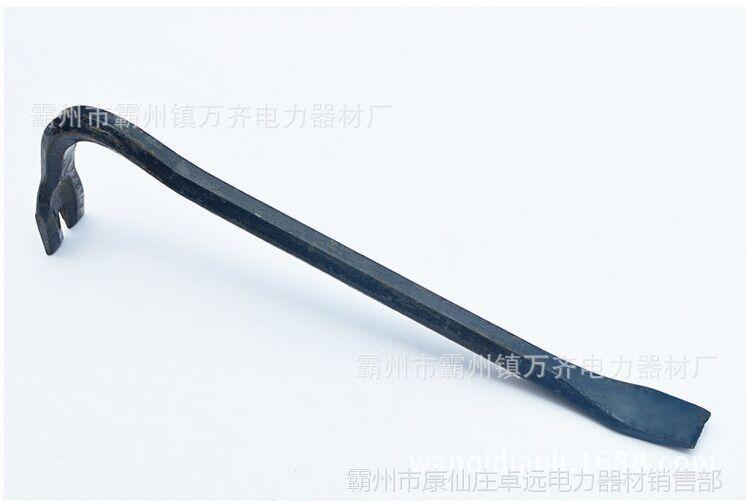 回力钩子 撬杠木工模板撬杆模板撬棍五金工具重型螺纹钢羊角起钉