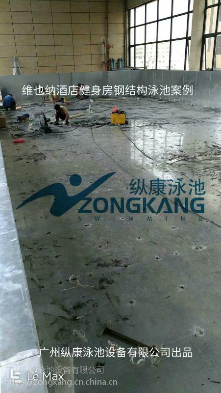 鹤岗市标准教学混凝土游泳池/拆装式游泳池/广州纵康桑拿恒温过滤设备