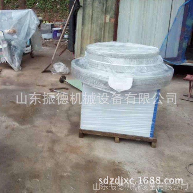 小型豆腐石磨机 电动石磨整套设备 振德供应 全自动豆浆石磨机