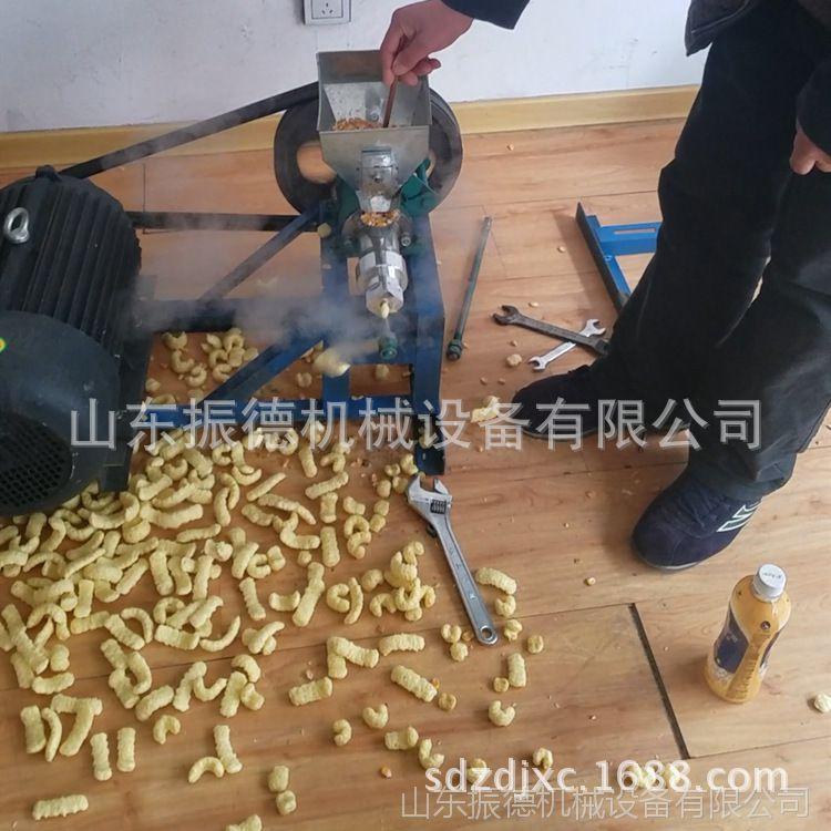 锈钢杂粮麻花膨化机 新型多功能麻花机加工 振德 商用型大米机