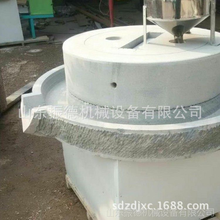 米浆花生酱加工石磨机 多功能石磨豆浆机 米粉磨 振德直销
