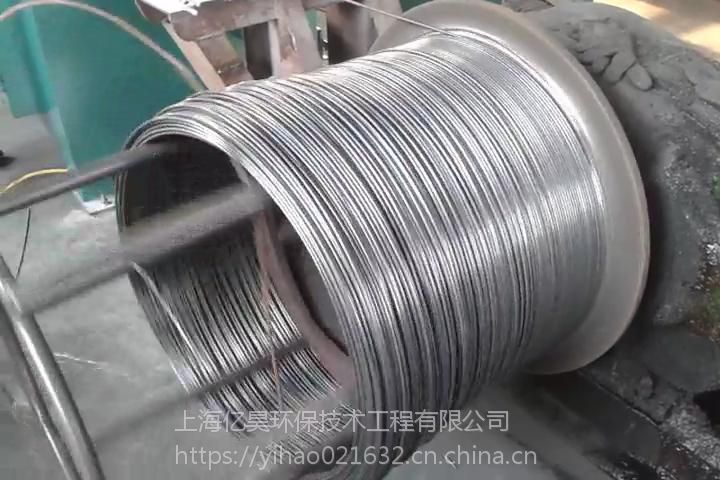 供应亿昊环保无酸洗智能补偿拉丝除锈机SC-08,拉丝线材直径5.5mm-8mm