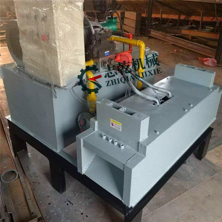 液压式钢筋切断机 志乾废料螺纹钢截断机厂家 双口钢筋颗粒切断机