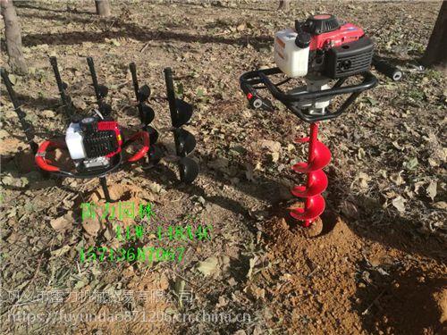 不同动力配套种植挖坑机 各种直径规格的土地钻孔机
