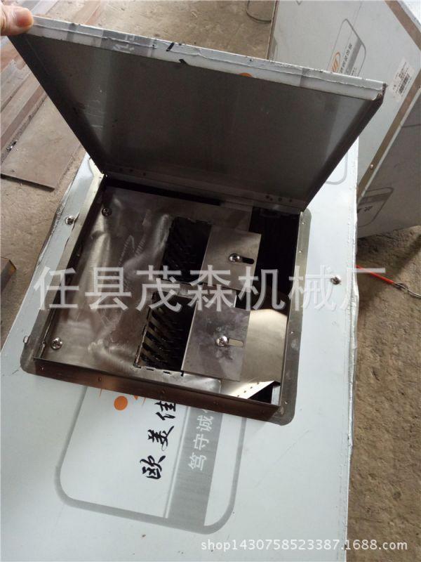 鲜鱼肉切片成型机 鱼类宰杀切段机器 全自动鱼肉切片 切段机