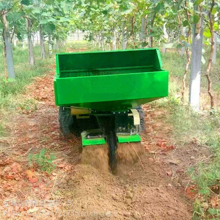 山区田园管理机 履带式柴油开沟施肥机 旋耕机无人驾驶