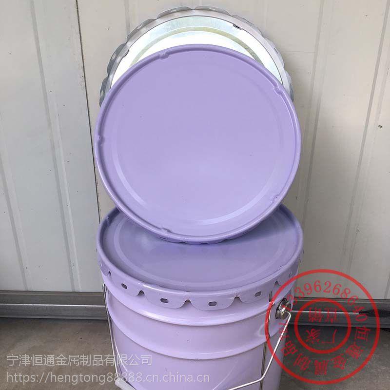 咸宁乳胶漆铁桶4L敞口桶铁桶在哪里买恒通