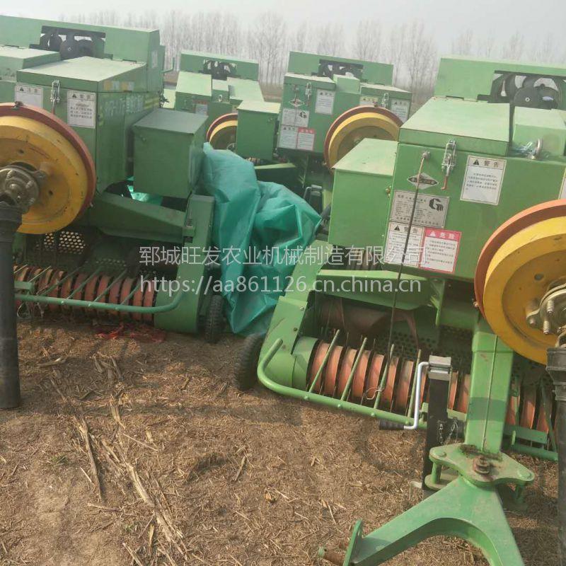 粉碎捡拾捆扎机厂家 青储取料机报价 高速转盘稻草打捆机