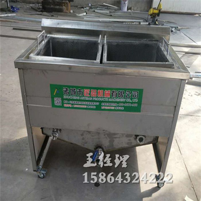 肉制品炸制油水分离油炸机 匠品机械