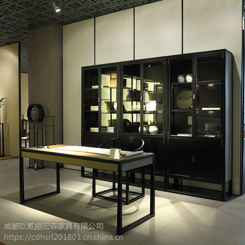 成都仿古禅意民宿家具定做 成都禅意古典中式家具