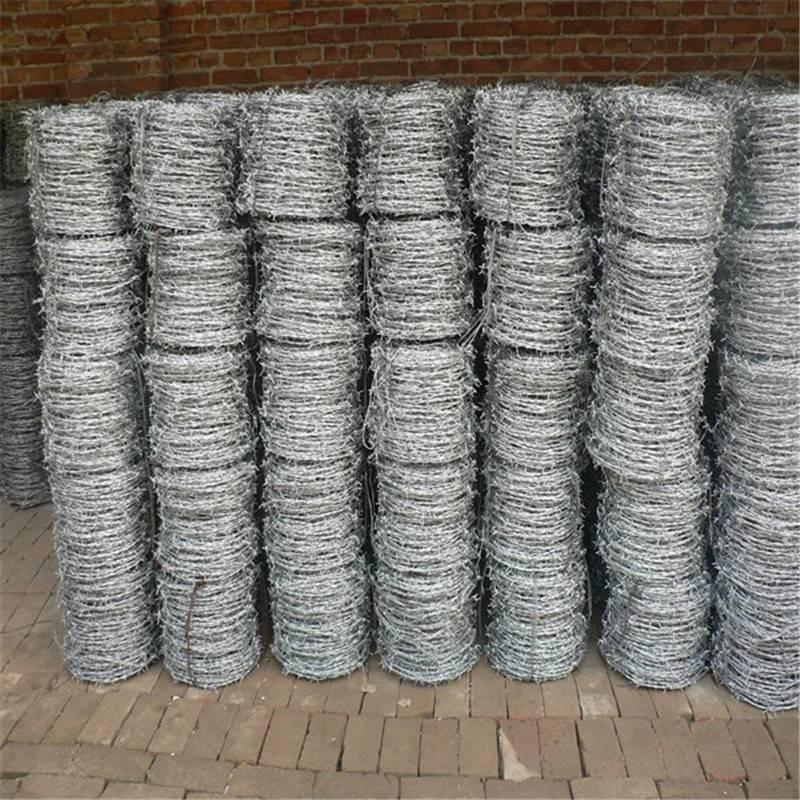 娄底镀锌刺绳 铁丝防护网刺绳 圈地护栏网