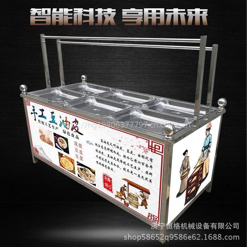 一机多用腐竹油皮机 黄豆加工设备仿手工豆油皮机 坚固耐用豆皮机