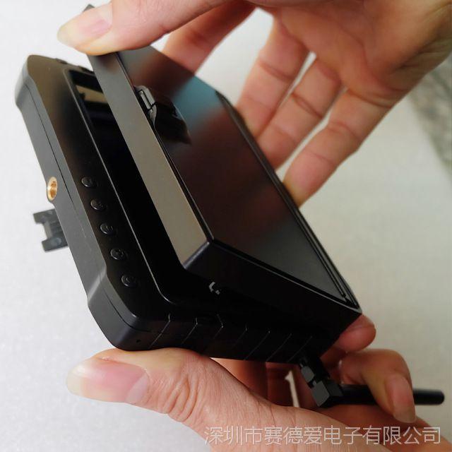 工厂直销!1.2G/2.4G/5.8G 5寸高清32频道带图传航拍接收器