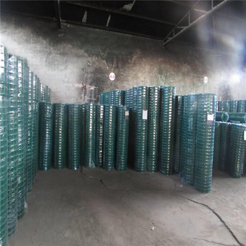 包塑荷兰网 野山鸡场防护网 铁丝网现货