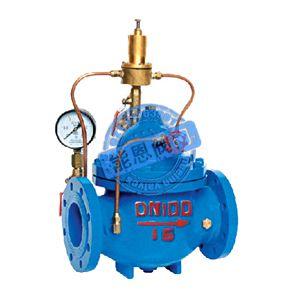 活塞式电动浮球阀 活塞式电磁控制阀 活塞式可调减压阀 活塞式安全泄图片