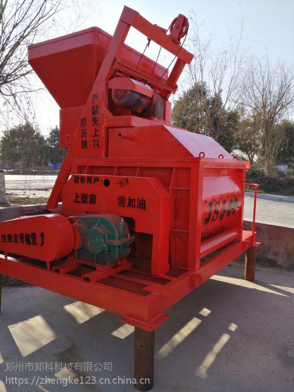 赤壁郑科500型单电机搅拌机卸料系统组成