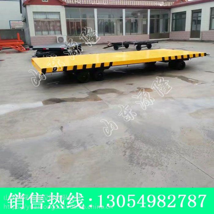 8吨移动发电机拖车 机场柴油机拖车 实心轮胎拖车