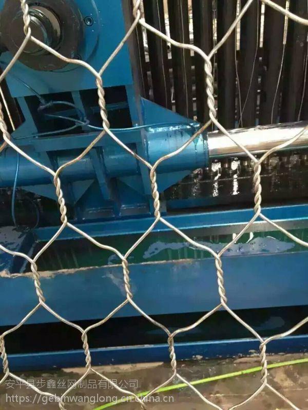 【步鑫】供应 镀锌 锌铝合金丝 覆塑石笼网 石笼网厂家